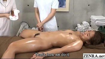 JAV lesbian massage clinic new hire training day Subtitles