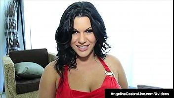 Super Tits Latina Angelina Castro Fucked By Spanish Cock!