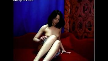 camgirl black-hair Hot Russian Cam Model