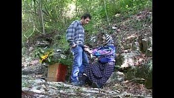 Деревенские бабы и бабки в сексе