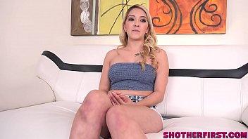 Young stripper Lindsey Lexus first porn shoot