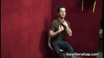 Hardcore Gay interracial gloryhole fuck party 10
