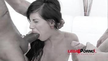 Cuckold eating cum