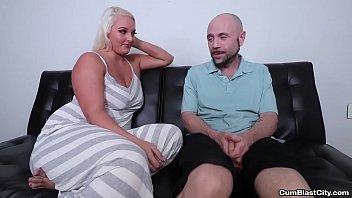 cumblast-Busty blonde gets a facial