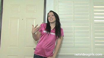 Casting Couch With Amateur Brunette Danielle