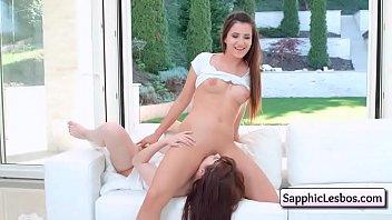 Cutie lesbian teens anal wakeup pleasure deep and soft
