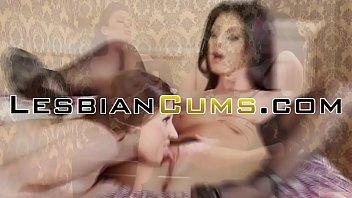 Lesbian latina pussy fucking in shower | lesbiancums.com