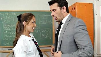 Remy La Croix Is A Horny Schoolgirl