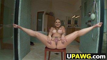 Sarah Vandella has a round ass
