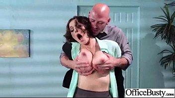 Sex On Cam With Busty Horny Office Slut Girl (krissy lynn) clip-21
