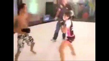 INTER-GENDER MATCH #1 UFC Claudia Gadelha Woman vs Man MMA Cage Match