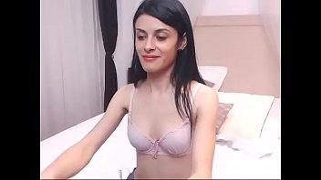 Beautiful Hungarian Babe Masturbates Naked On Cam