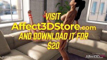 Hot futanari lesbian 3D Animation Game