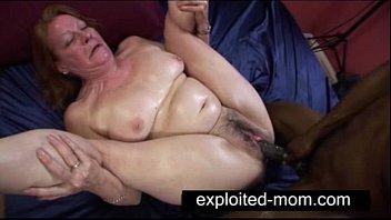 Old whore taking big black cock in Granny Sex Video