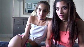 Latina Teens Fuck Landlord to Pay Rent - Sofie Reyez & Gia Valentina - Preview Thumb