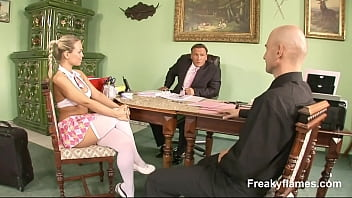 Extra Slim home grown Bitch missed love very much with a enormous prick