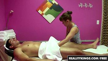 Half asian teen (Nikko Jordan) gives a geat rub and tug - Reality Kings