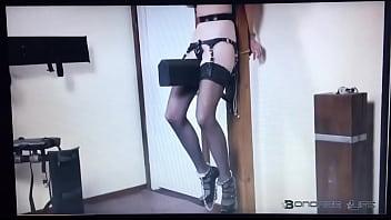 BDSM Wooden Post Pleasure Pain Porn
