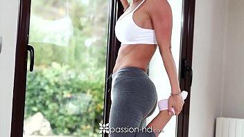 PASSION-HD Anal fuck an facial with big booty brunette Franceska Jaimes