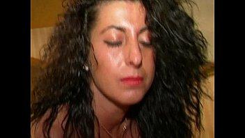 Italian amateur brunette plays with a vibrator