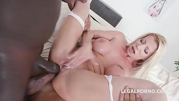 Double Anal Creampie with Lara De Santis Balls Deep Anal / DAP / Gapes / Creampie GIO832