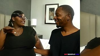 Bubble butt ebony mom taking BBC from neighbor Don Prince