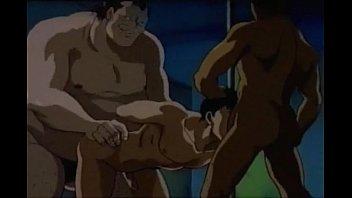 レイプされるゲイアニメ。抜ける!
