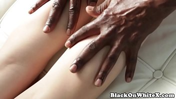 Sensual interracial beauty fucked by BBC