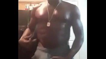 Black Daddy Nipple play
