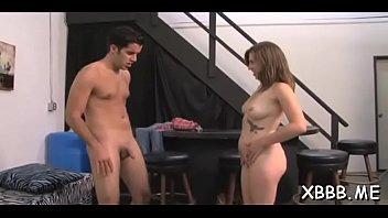 Pretty hottie explores carnal pleasures