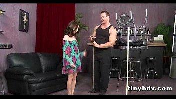 Petite tiny girl drilled Jessi Palmer 6 91