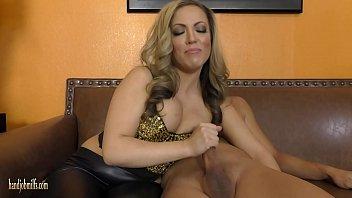 Carmen humiliates her cuckold husband - from Handjob Milfs
