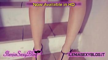 Beautiful Student in Underwear Undresses - IleniaSexyBlog