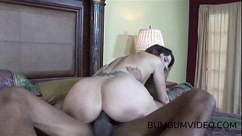 big black cock fucks brunette milf