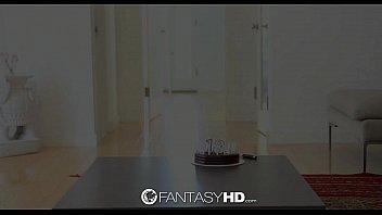 HD - FantasyHD Foxy Janet gives Teen Dani rough fuck for birthday