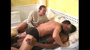 Black lesbian with gay men