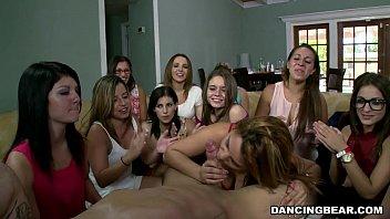 Party Sluts tag teaming Cocks