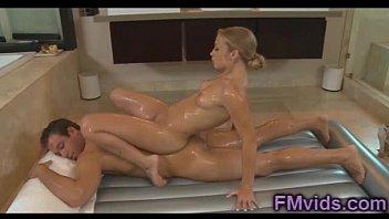 Alyssa Branch hot massage