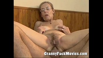 Old granny fucked hard in her hairy ass Thumb
