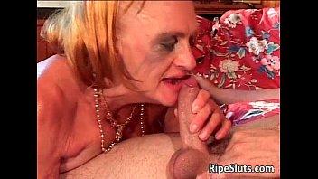 Old mature slut with big tits gets her | Video Make Love