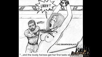 Brutal hentai sex slave fucking