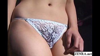 Bizarre JAV BDSM shibari rope binding and nose hooks