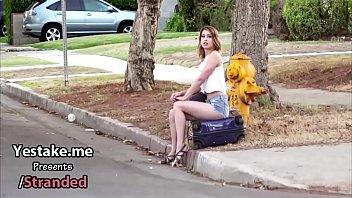 Maya Bijou sucks dick for a ride