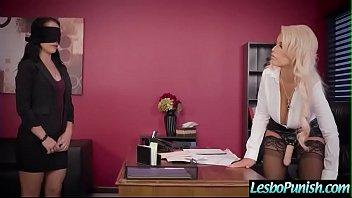 (Kristina Rose &amp_ Bridgette B) Lesbians In Girl On Girl Hard Punish Sex Using Toys clip-28