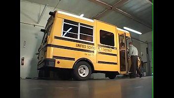 Schoolgirl gets fuck in bus on way home----Ebony-nice tits-BJ.Fuck and Facial