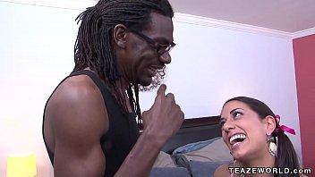 Lyla storm gets a big black cock porn image