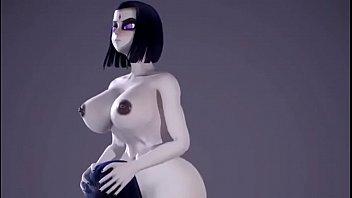 Raven Futa Clips 3d cartoon