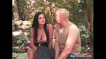 Sexy brunette babe sucks hard cock Thumb
