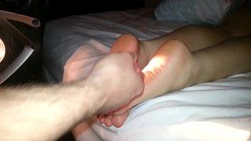 Cumming On Girlfriend's Feet #2