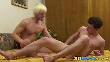 Amateur rides big cock